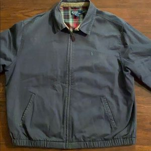 Men's Polo lined jacket.